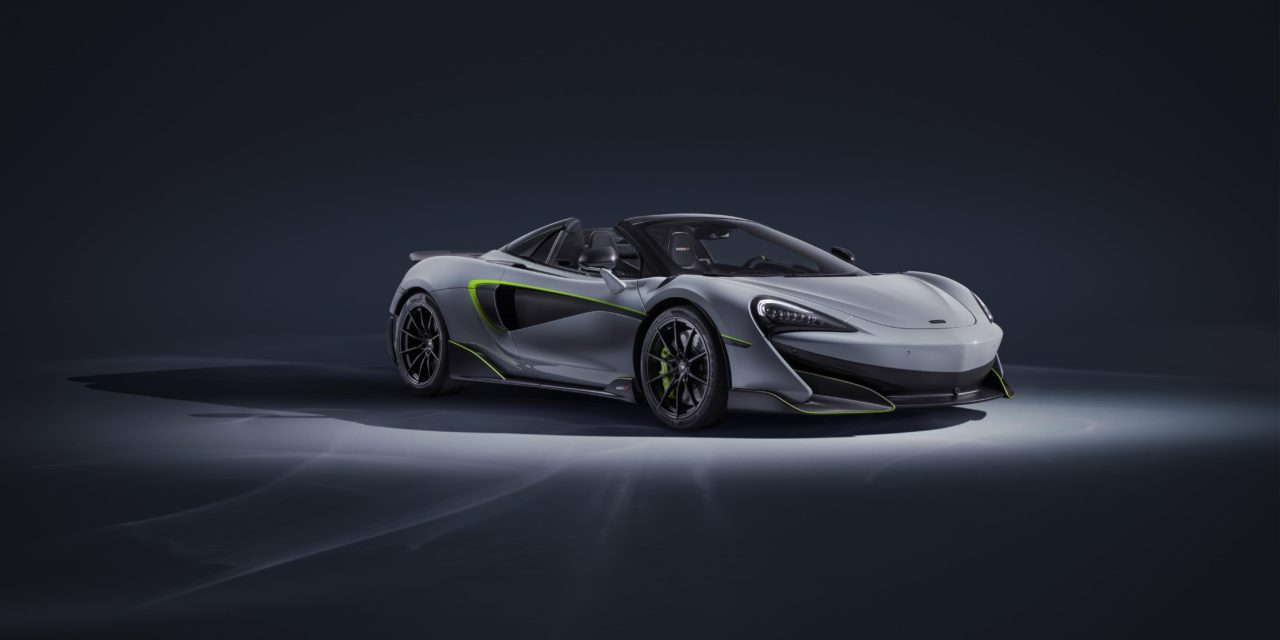 STRIKING ON OR OFF THE TRACK: THE 600LT SPIDER BY McLAREN SPECIAL OPERATIONS