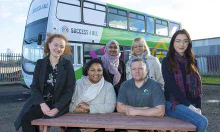 How a charity's dream landed Newcastle with the UK's first mobile double-decker Learning Bus!