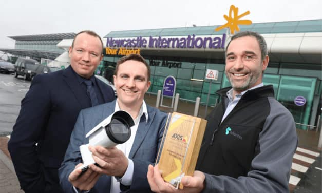Security Company Win Award for Work in Upgrading Newcastle Airport's Security Systems