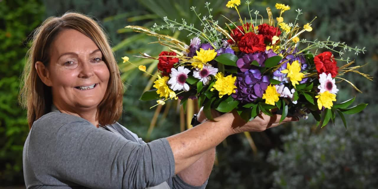 Blossoming new business aids local community