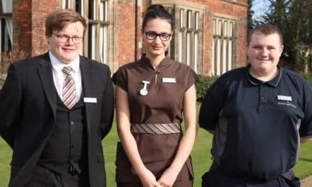 ROCKLIFFE HALL WELCOMES NEW APPRENTICES