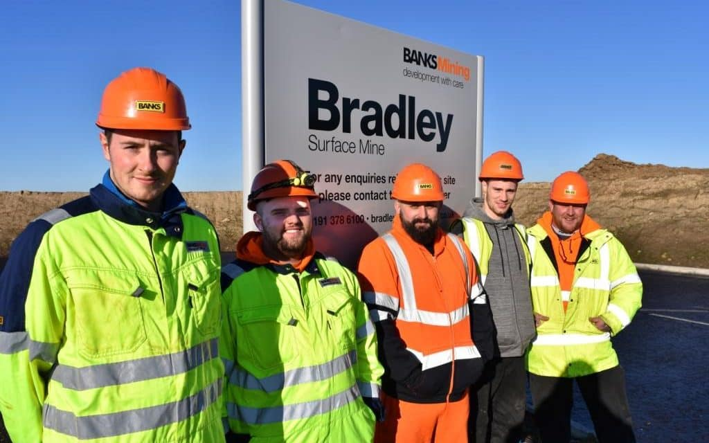 Local Apprentices Start Work At Bradley Surface Mine