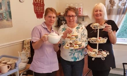 "Care home's first coffee morning a ""huge success"""