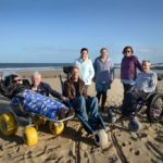 Beach Access North East Gets Wheely Useful £3,000 Newcastle Building Society Grant