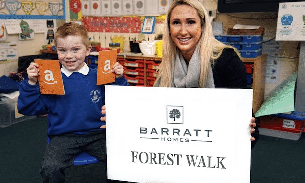 Local pupil inspires name for new housing development in New Hartley