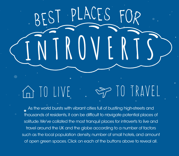 These Are The 10 Most Introvert-Friendly Travel Destinations Around the World