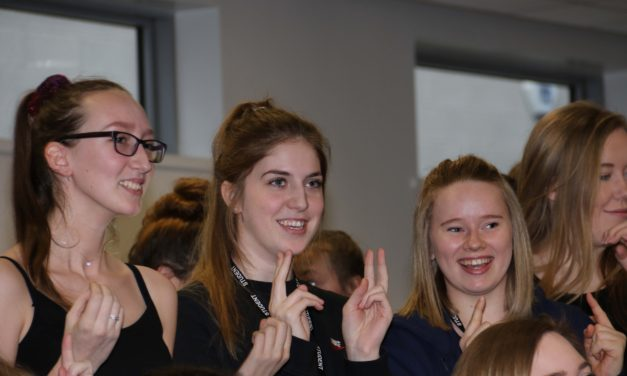 Students stage performance as part of Sign2Sing project