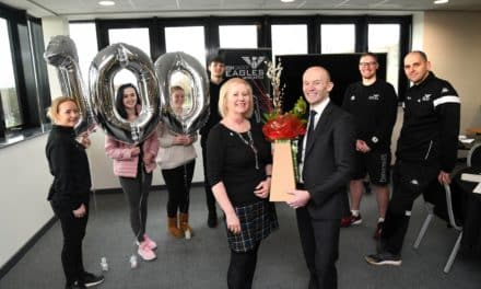 NEWCASTLE BUILDING SOCIETY HITS 100th 'DEMENTIA FRIENDS' SESSION WITH NEWCASTLE EAGLES