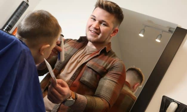 #NAW2019 Northumberland College apprentice is a cut above the rest