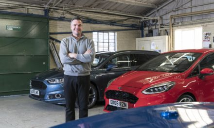 NEW FORD FACE TAKES OVER MEDIA FLEET