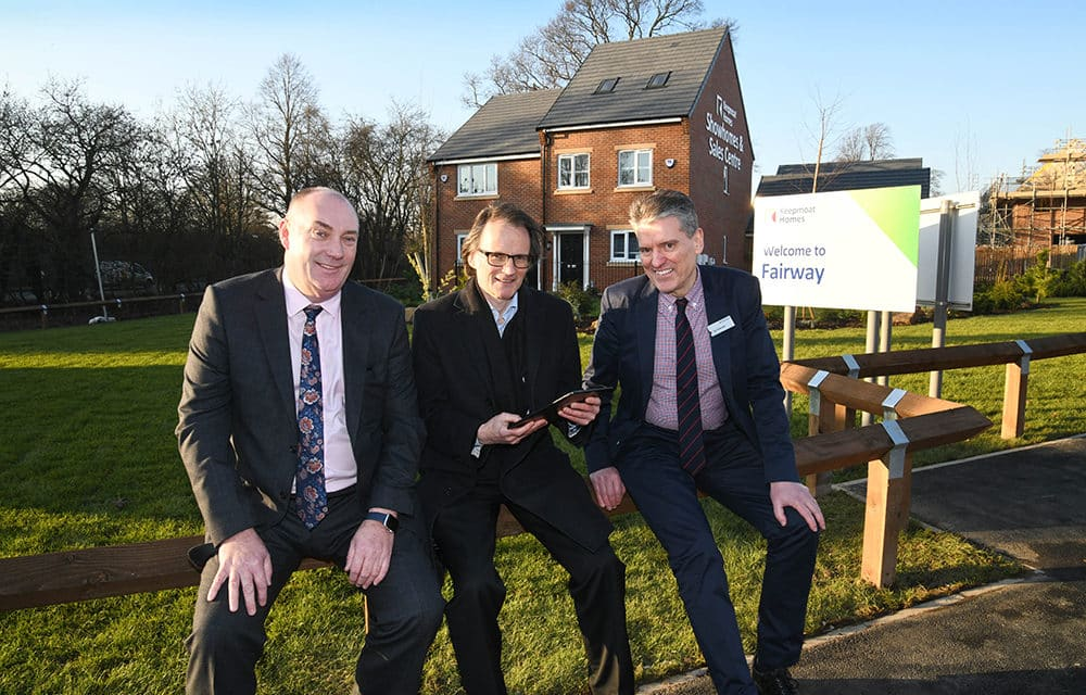 Show homes open at Healthy New Town Development