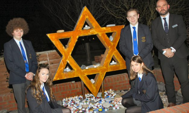 Academy hosts poignant service to remember the Holocaust and other genocides