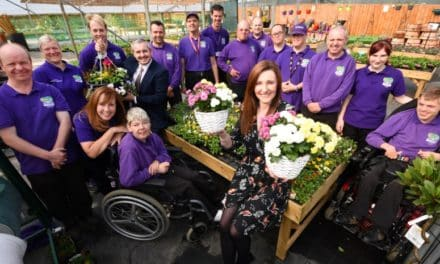 Tea-sy does it for growing garden centre