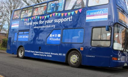 All aboard St Oswald's Charity Bus