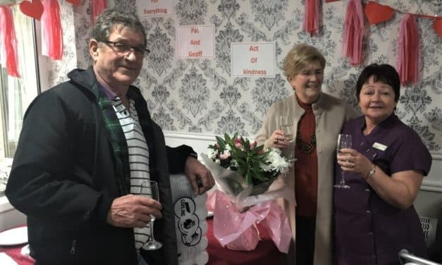 Volunteer care home gardeners get party on Kindness Day
