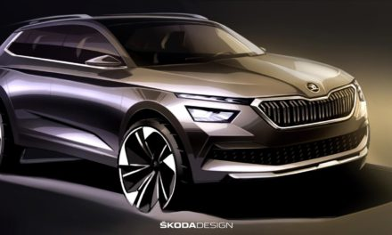 FIRST SKETCHES OF THE ŠKODA KAMIQ: OUTLOOK OF THE NEW CITY SUV