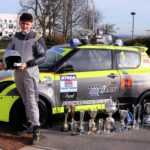 Teen rallycross champion races to historic success