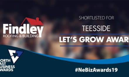 Teesside roofing company shortlisted for North East Business Awards