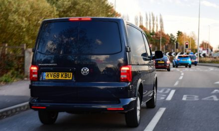 BRAKING NEWS: VAN DRIVERS RISKING ACCIDENTS BECAUSE OF HEAVY LOADS