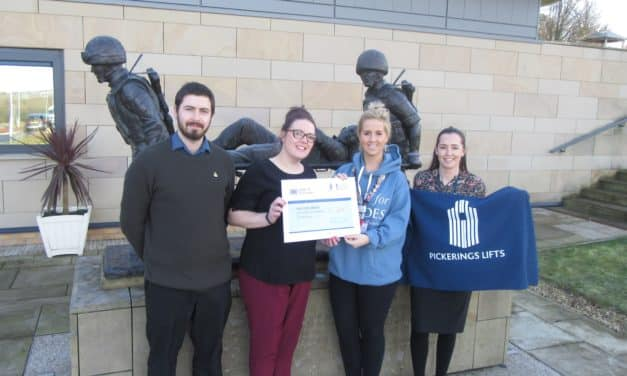 Pickerings Lifts joins Help for Heroes in the force for good