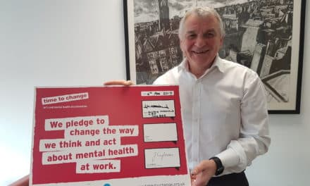 NHS leader signs pledge for mental health