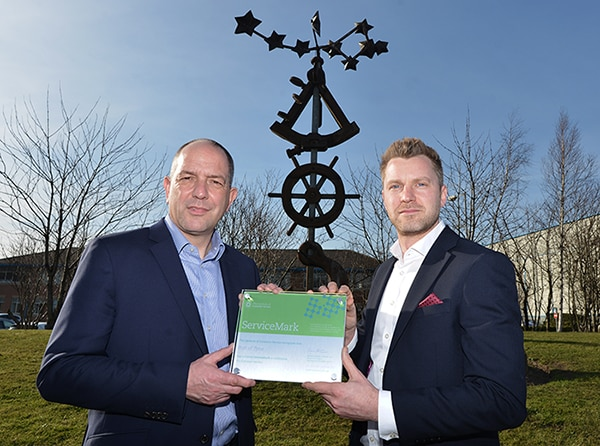 PORT OF TYNE RECOGNISED FOR OUTSTANDING CUSTOMER SERVICE