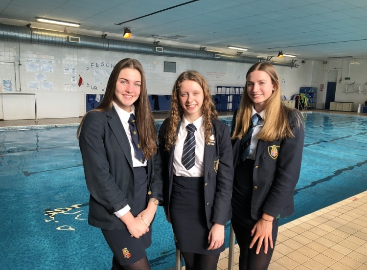 Top school swimmers crowned champs