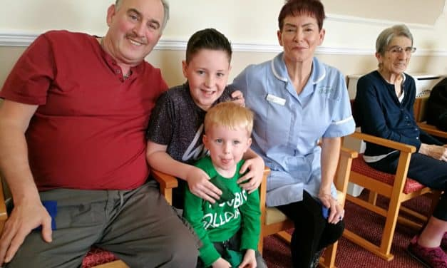 Children and elderly improve fitness with Funky Feet