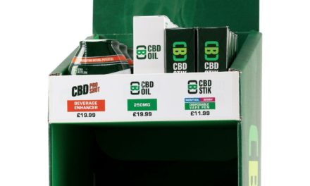 UK's first CBD counter display unit aims to bring cannabidiol into the mainstream retail market