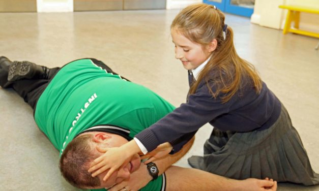 Pupils learn life-saving skills to prepare them for emergencies