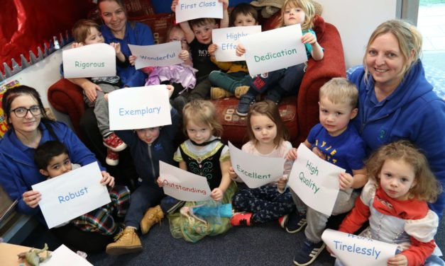 High praise for outstanding childcare centre at Darlington College