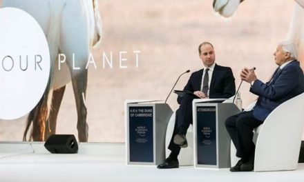 OUR PLANET – Sir David Attenborough & The Duke of Cambridge in Conversation during WEF 2019