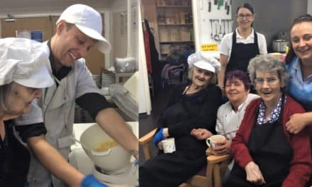 Fortune cookies helping elderly with dementia