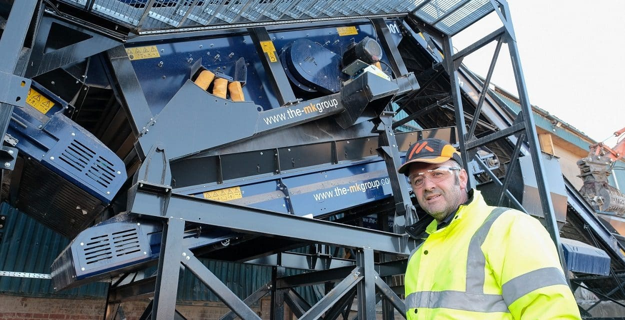Landfill waste cut by Scott Bros. as part of £1m recycling plant investment