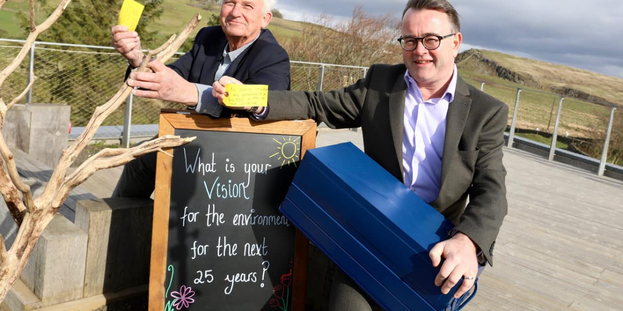 National Landscape Discovery Centre officially welcomes 250,000th visitor!