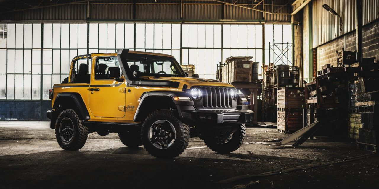 ALL EYES ON THE JEEP WRANGLER RUBICON 1941 BY MOPAR