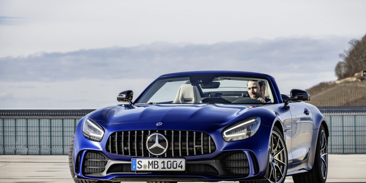THE NEW MERCEDES-AMG GT R ROADSTER: HATS OFF TO THE BEAST OF THE GREEN HELL