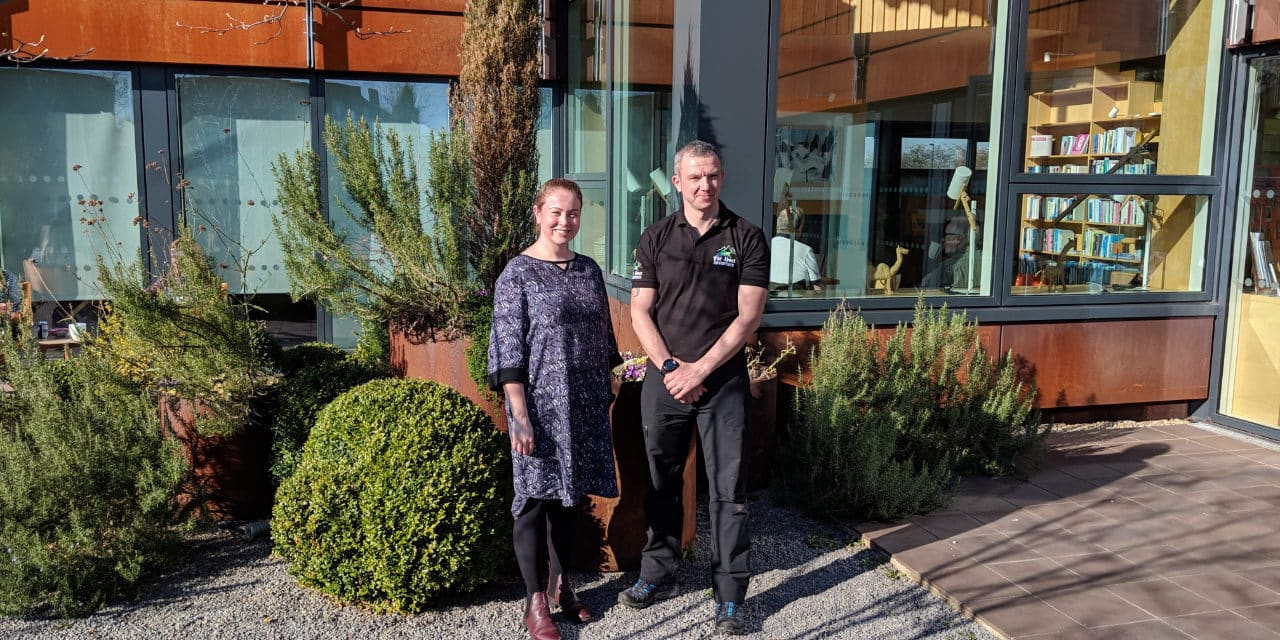 Ain't no mountain high enough for benevolent Northumberland businessman