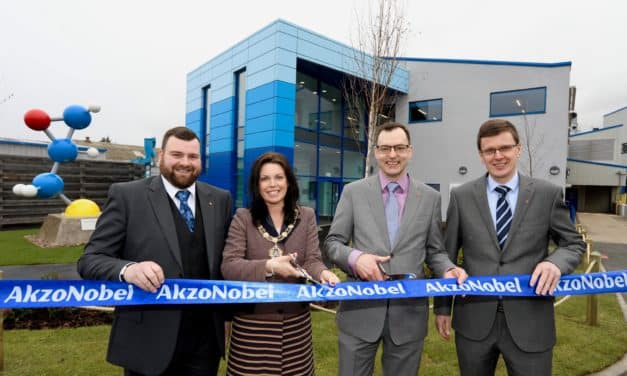 Global paint manufacturer opens groundbreaking R&D innovation campus in North East