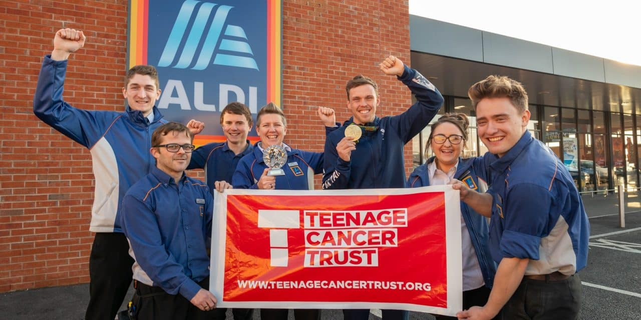 Consett Aldi store helps Aldi reach £3million milestone for Teenage Cancer Trust