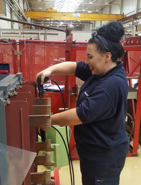 Siemens apprentice blazes a trail for female engineers for National Apprenticeship Week