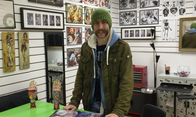 MIDDLESBROUGH TATTOO ARTIST TO MAKE HIS MARK WITH NEW BUSINESS