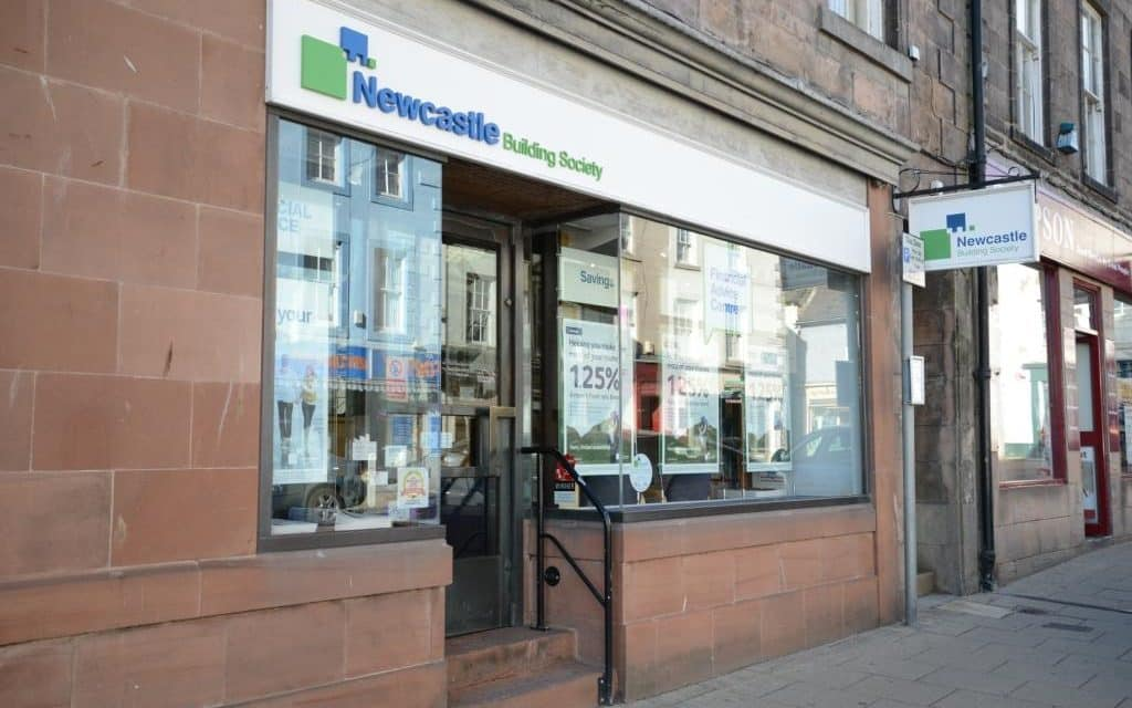 Newcastle Building Society Investing In Berwick Branch Upgrade