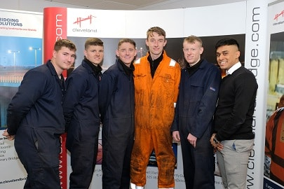 Cleveland Bridge UK recruits new cohort of apprentices