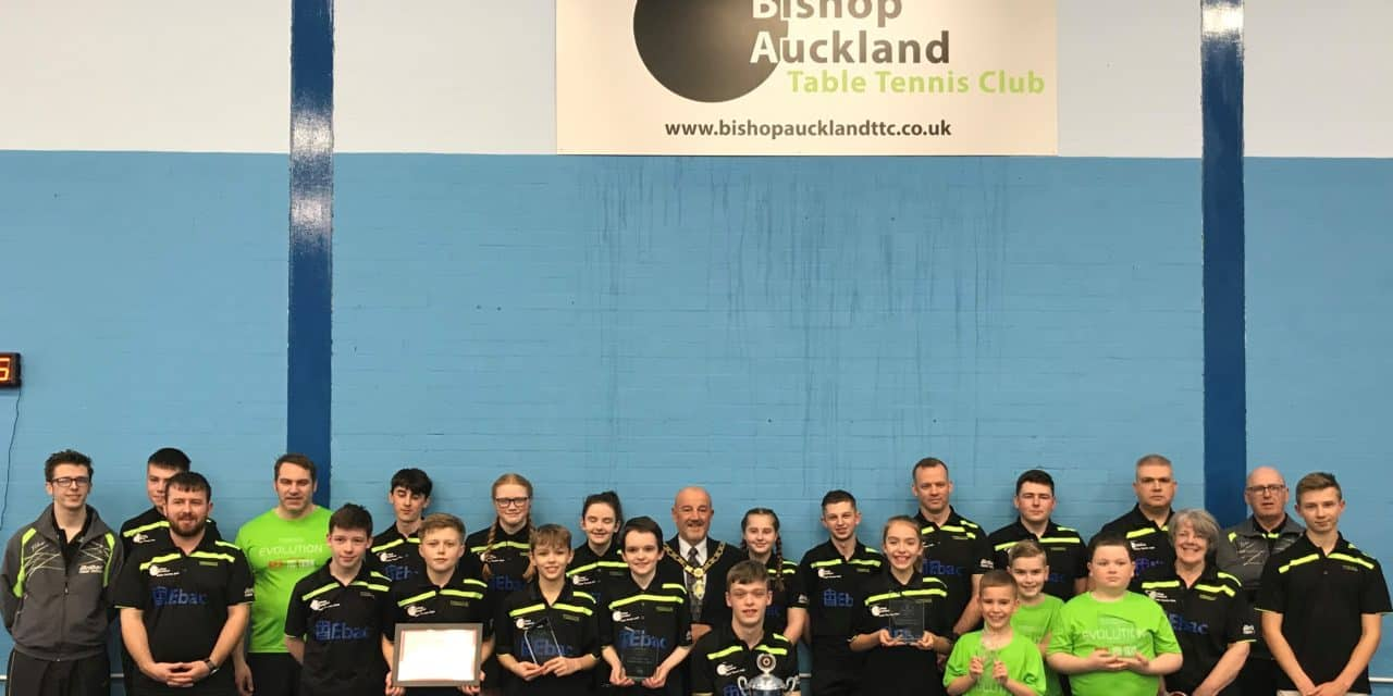 Hat Trick of Regional Awards for Table Tennis Club