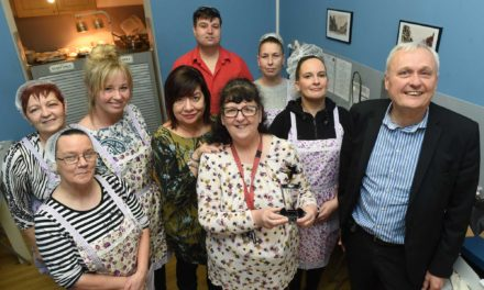 COMMUNITY STAR SUSAN RECOGNISED FOR WORK WITH TEESSIDE'S HOMELESS