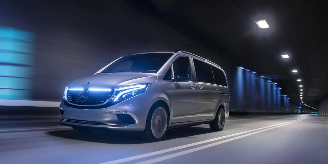 CONCEPT EQV: MERCEDES-BENZ IS PROVIDING AN INSIGHT INTO THE ELECTRIC FUTURE OF THE PREMIUM MPV