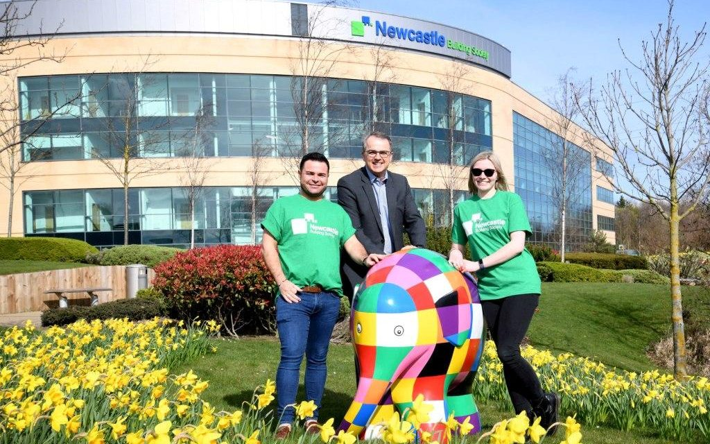 Newcastle Building Society Joins Elmer's Great North Parade