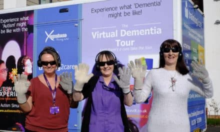 Care staff step into shoes of people living with dementia