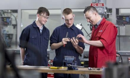 Firms back training scheme to plug engineering skills gap
